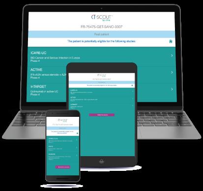 A multi-device web application